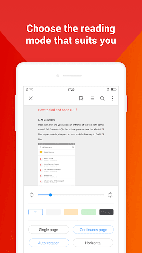 WPS PDF -  Free For PDF Scan, Read, Edit, Convert 1.8.9 Screenshots 6