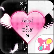 Gothic Theme Angel & Devil