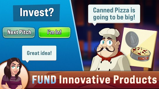 Shark Tank Tycoon APK (MOD, Unlimited Money) for Android 2