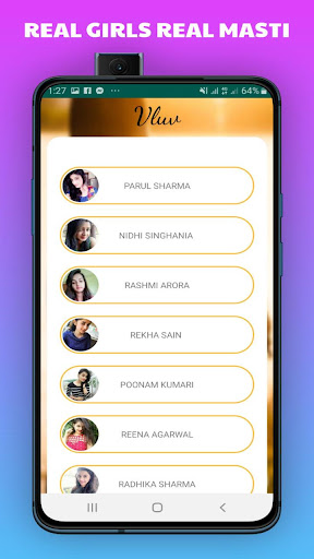 Vluv -Indian Girls Mobile Number For Whatsapp Chat 1.0 Screenshots 6