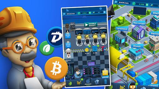 Crypto Idle Miner: Bitcoin mining game  screenshots 5
