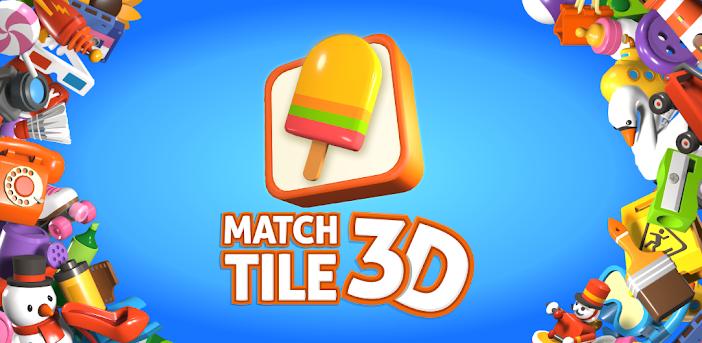 Match Tile 3D - Original Pair Puzzle