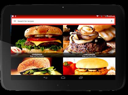 Burger And Pizza Recipes