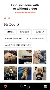 Dig-The Dog Person's Dating App Screenshot