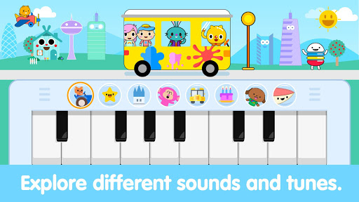 Baby Piano For Toddlers: Kids Music Games 1.4 screenshots 1