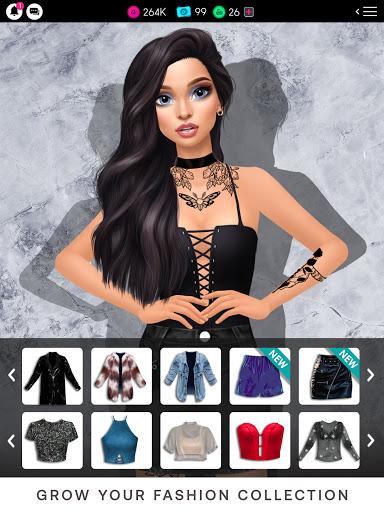 GLAMM'D - Style & Fashion Dress Up Game apktram screenshots 11