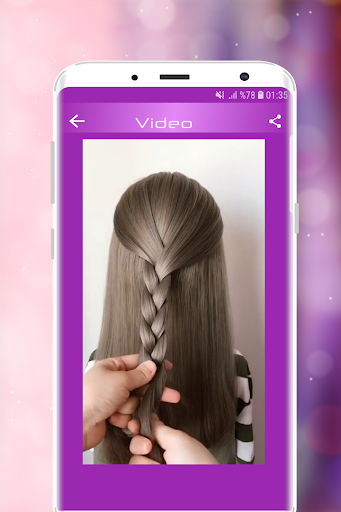 Hairstyles Step by Step Videos (Offline) 1.6.1 Screenshots 11