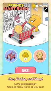 Friends Mart Rush Mod Apk 1.1.0 (All Skins and Carts Are Open) 2