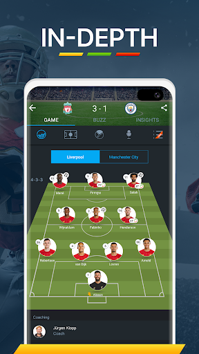 365Scores - Live Scores and Sports News screen 2