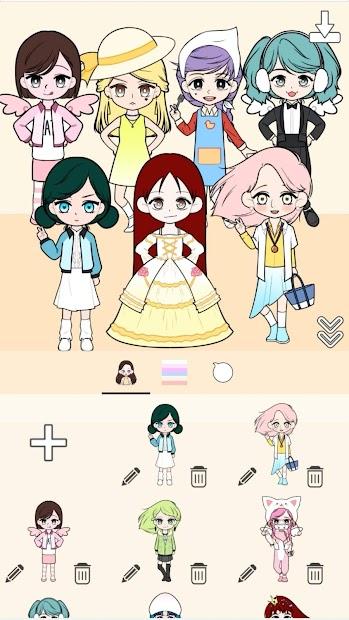 Imágen 2 de My Webtoon Character Girls - K-pop IDOL Maker para android
