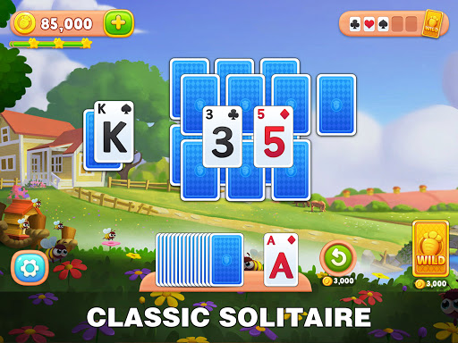 Solitaire Farm: Classic Tripeaks Card Games  screenshots 15