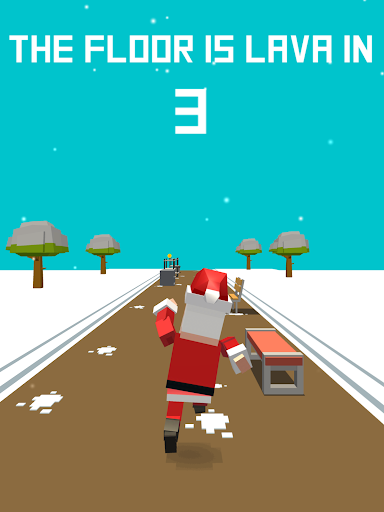 Xmas Floor is Lava !!! Christmas holiday fun ! Apkfinish screenshots 8