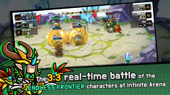 Endless Arena Mod Apk- Idle Strategy Battle (Unlimited Gold) 2