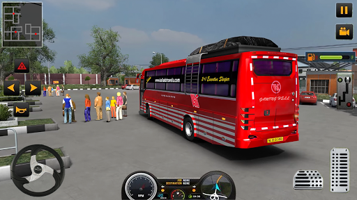 Modern Heavy Bus Coach: Public Transport Free Game 0.1 screenshots 7