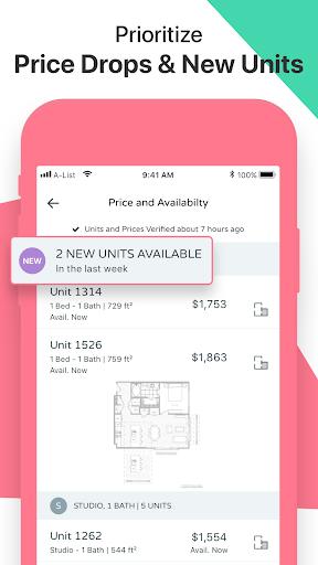 Apartment List: Housing, Apt, and Property Rentals 2.32.0 Screenshots 3