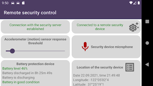 Remote car security screenshot 11