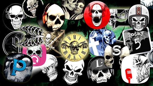 Skull theme  screenshots 1