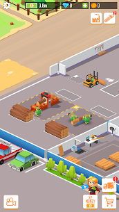 Free Idle Lumber  Factory Tycoon Apk Download 2021 4