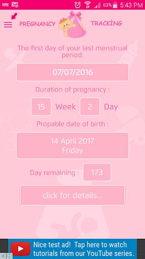Pregnancy Tracker 2.0 screenshots 1
