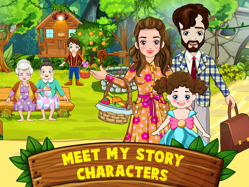 Mini Town: Red Riding Hood Fairy Tale Kids Games modavailable screenshots 7
