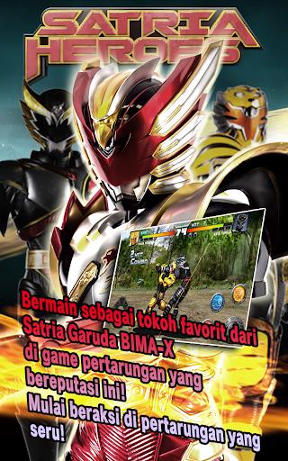 SATRIA HEROES /from Satria Garuda BIMA-X and MOVIE screenshots 1