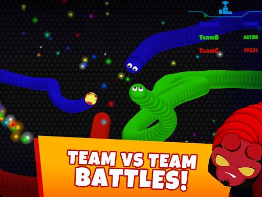 Snaky .io - Fun Multiplayer Slither Battle screenshots 17