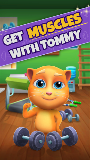 My Talking Cat Tommy - Virtual Pet apktram screenshots 3