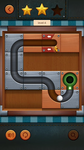 Unblock Ball - Moving Ball Slide Puzzle Games 1.6 screenshots 7