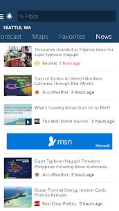 MSN Weather – Forecast & Maps 4