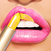 Lip Art Makeup Artist - Relaxing Girl Art Games