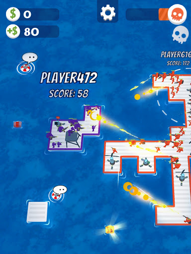 War of Rafts: Crazy Sea Battle  screenshots 24