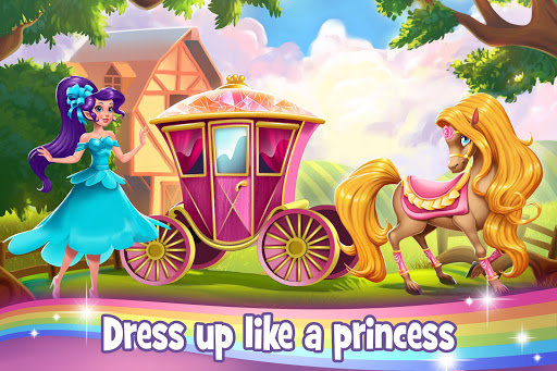 Download Tooth Fairy Horse - Caring Pony Beauty Adventure mod apk 1