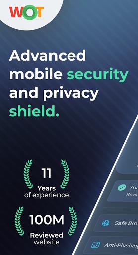 WOT Mobile Security & Anti Phishing Protection  screenshots 1