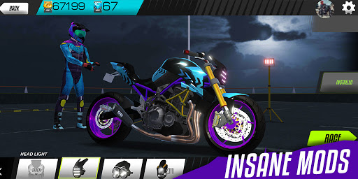 Drift Bike Racing apkpoly screenshots 7