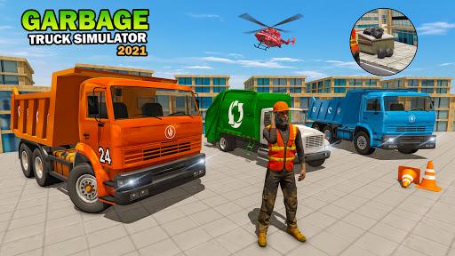City Garbage Truck Driving Simulator - Dump Truck  screenshots 1