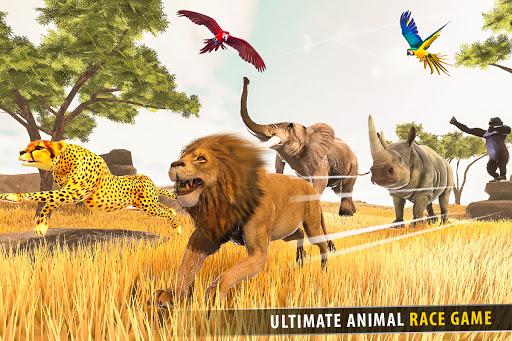 Savanna Animal Racing 3D: Wild Animal Games 1.0 screenshots 5