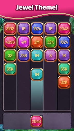 Merge Numbers - 2048 Blocks Puzzle Game screenshots 4