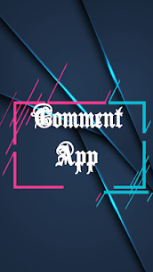 Text Comments App  For Pc – Free Download In Windows 7/8/10 And Mac Os 1