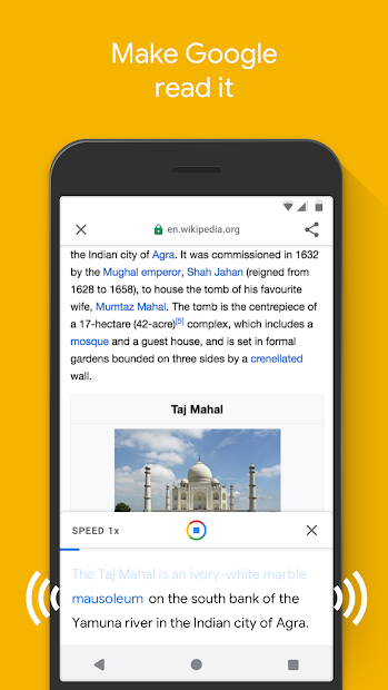 Google Go: A lighter, faster way to search screenshot 2