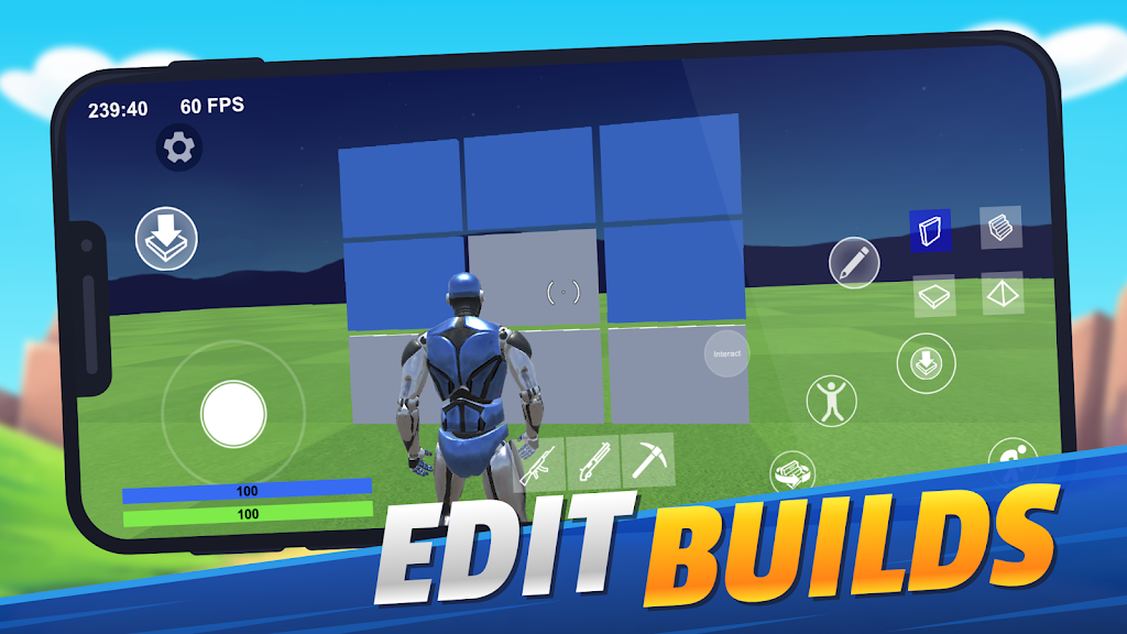 1v1.LOL - Third Person Shooter Building Simulator poster 1