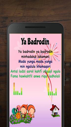 Lagu Anak Muslim & Sholawat Nabi 1.0.8 screenshots 2