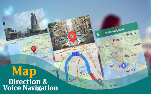 GPS Navigation & Map Direction - Route Finder  Screenshots 8