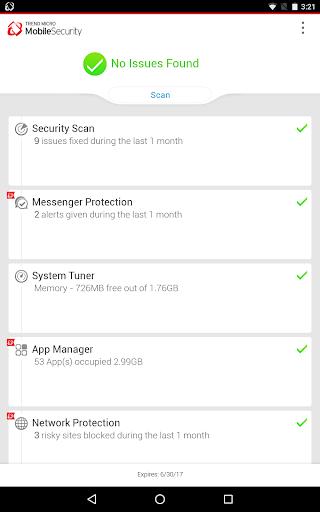 Mobile Security & Antivirus Apkfinish screenshots 10