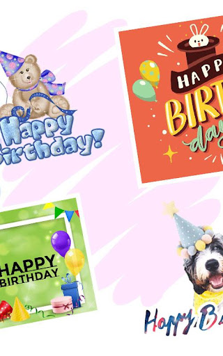 Happy Birthday Greeting Cards And GIF  screenshots 2