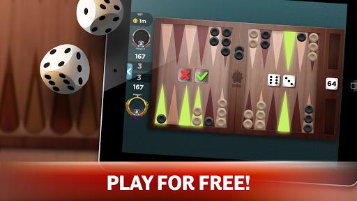 backgammon - offline free board games screenshot 2