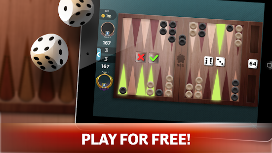 Backgammon - Offline Free Board Games 1.0.1 Screenshots 2