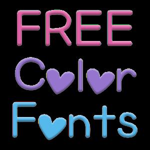 Color Fonts for FlipFont #6