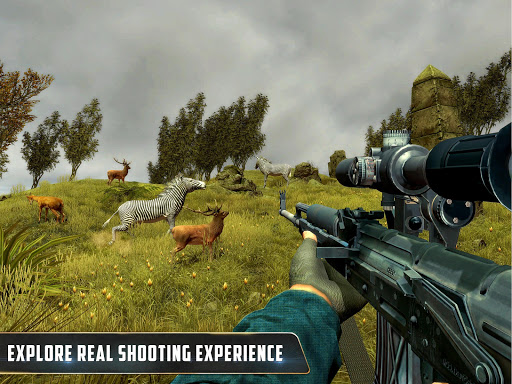 Wild Animal Hunting : Jungle Sniper FPS Shooting 1.11 screenshots 14
