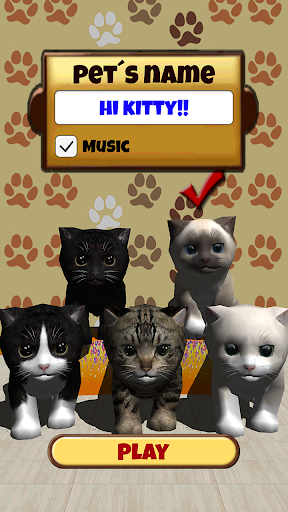 Kitty lovely   Virtual Pet For PC Windows (7, 8, 10, 10X) & Mac Computer Image Number- 5