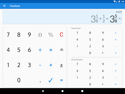 Fractions - calculate and compare 2.18 Screenshots 9
